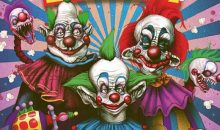 KILLER KLOWNS FROM OUTER SPACE have landed with Fright Rags!!