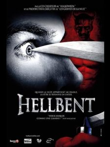 "Poster for the movie ""HellBent"""