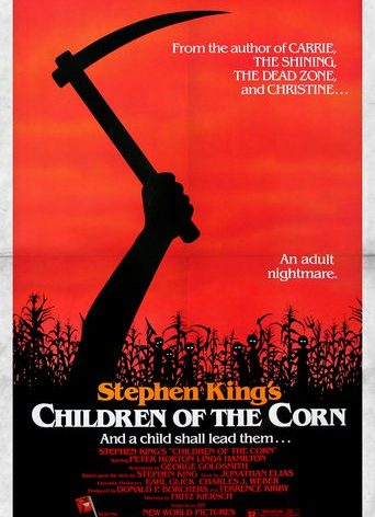 """Poster for the movie """"Children of the Corn"""""""