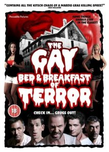 "Poster for the movie ""The Gay Bed and Breakfast of Terror"""