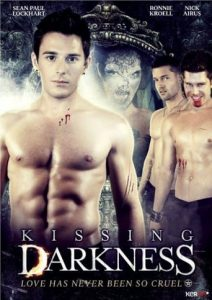 """Poster for the movie """"Kissing Darkness"""""""