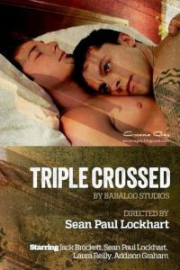 "Poster for the movie ""Triple Crossed"""