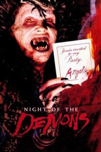 """Poster for the movie """"Night of the Demons"""""""