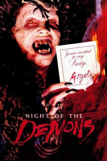 "Poster for the movie ""Night of the Demons"""