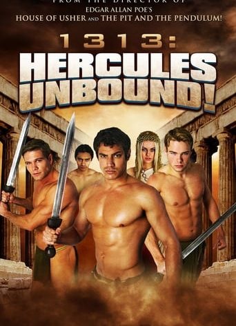 "Poster for the movie ""1313: Hercules Unbound!"""
