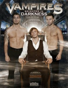 "Poster for the movie ""Vampires: Brighter in Darkness"""