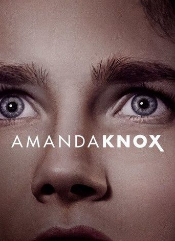 "Poster for the movie ""Amanda Knox"""