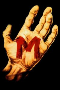 "Poster for the movie ""M"""