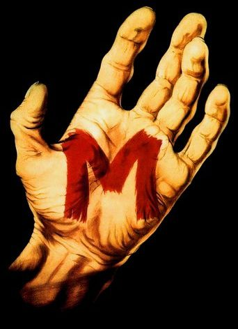 """Poster for the movie """"M"""""""