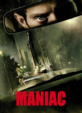 "Poster for the movie ""Maniac"""