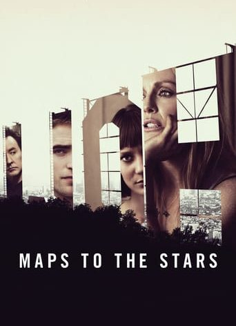 "Poster for the movie ""Maps to the Stars"""