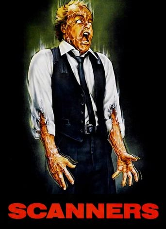 "Poster for the movie ""Scanners"""
