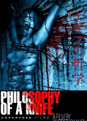 """Poster for the movie """"Philosophy of a Knife"""""""