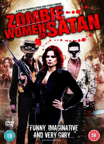 """Poster for the movie """"Zombie Women of Satan"""""""