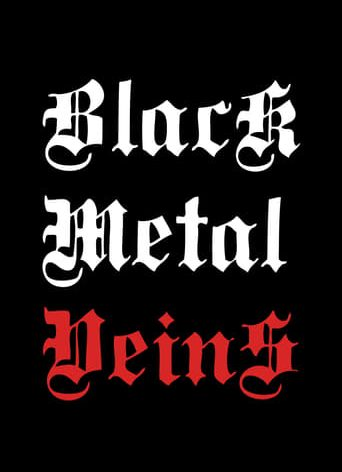 "Poster for the movie ""Black Metal Veins"""