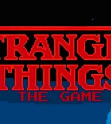 A Stranger Things Video Game in the works!!