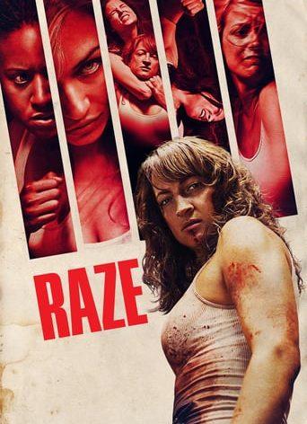 "Poster for the movie ""Raze"""