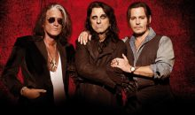 Alice Cooper, Johnny Depp, Joe Perry Hollywood Vampires Tour!!