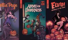 Iconic Horror Stars coming in Comic Books!!