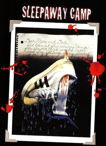 """Poster for the movie """"Sleepaway Camp"""""""