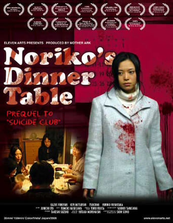 "Poster for the movie ""Noriko's Dinner Table"""