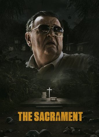 """Poster for the movie """"The Sacrament"""""""