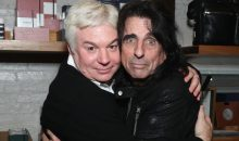 Video of Mike Myers bowing down to Alice Cooper on stage in concert!!
