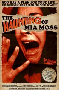 "Poster for the movie ""The Haunting of Mia Moss"""