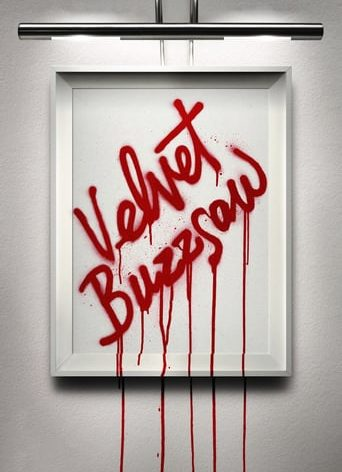 "Poster for the movie ""Velvet Buzzsaw"""