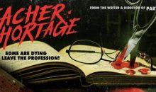 Teaser and poster is here for Troy Escamilla's Teacher Shortage!!