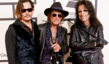 Joe Perry back on the road with Aerosmith and Hollywood Vampires!!