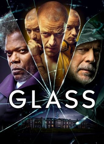 "Poster for the movie ""Glass"""