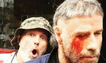 Pics of John Travolta in Fred Durst's horror film The Fanatic!!