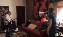 Steven Tyler Angers Joe Perry In Aerosmith Dressing Room Video!!