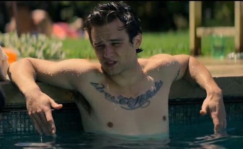 Brandon flynn shirtless