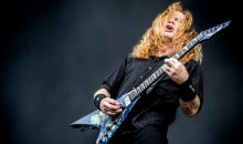 Megadeath's Dave Mustaine is battling Throat Cancer