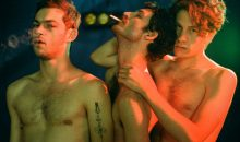 Here's a clip from shocking new Queer Horror film set in a gay porn studio, Knife+Heart