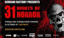 Tonight starts 31 Nights of Horror!!