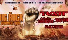 Ratt, Cinderella's Tom Keifer, Skid Row and Slaughter to headline The Big Rock Summer Tour!!